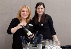 Julie and Chantelle had a great time at Appetite for Art Fundraiser, Kelowna Art Gallert on March 23rd, pouring Blue Mountain NV Brut!!