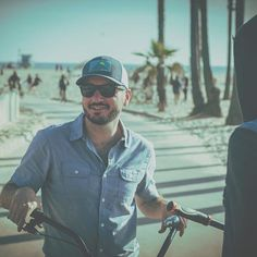 The five foot assassin with the roughneck business. #throwback to #venicebeach #california with my homie @igmicanovic #goodvibes #losangeles #la #photography #photo #photooftheday #beard #beardlife #steez #swag #beach #beachcruiser #beachcruisin #lightroom #vsco #vscocam #vscomag #canon1dmarkiii #niftyfifty