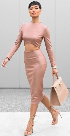 Everything Blush Outfit Idea by Micah Gianneli