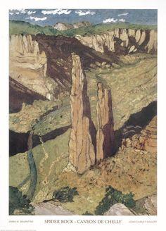 Spider Rock, Canyon de Chelly Print