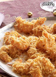 Crispy Coconut Shrimp #recipe