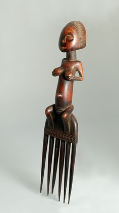 Heart of Darkness, the Congo – by Barbara Steinberg Congo Free State, Afro Comb, Belgian Congo, Tribal Hair, Art Premier, Africa Art, Art Carved, Indigenous Art, Aboriginal Art