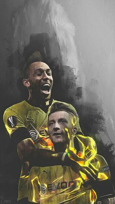 Marco Reus And Aubamayeng LoveBVB