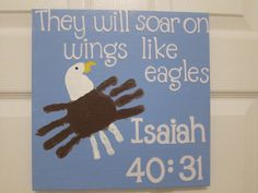 Eagle Handprint Art