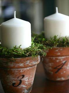 Décoration chic avec bougies