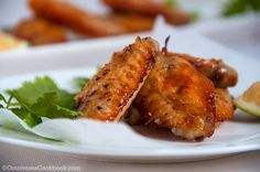 Grilled salt and pepper chicken wings by Omnivore's Cookbook