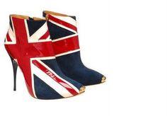 Union Jack ankle boots