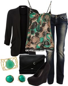 """Drinks with the Girls"" by lovelyingreen ❤ liked on Polyvore"