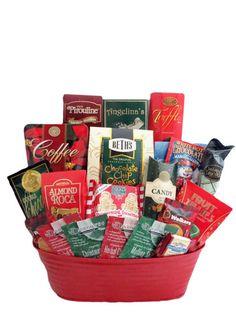 Xmas Treats Send Gift Basket Sympathy Baskets Housewarming Birthday