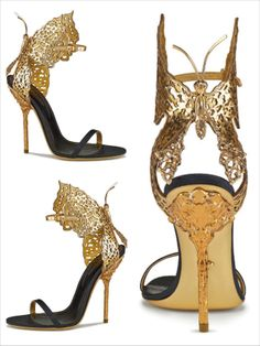 Sergio Rossi's butterfly sandals in tribute to Gabriella Crespi – Fashion Style Magazine