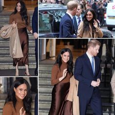 of January Prince Harry and Meghan leaving Canada House in London after visiting Canada's High Commissioner her Excellency Janice Charrette. Princess Meghan, Prince And Princess, Baby Prince, Young Prince, Harry And Meghan News, Prince Harry And Meghan, Royal Uk, Royal Life, Duchess Of Cornwall