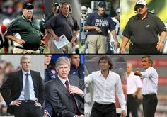 Fashion and fitness: NFL coaches vs. Funny Sports Pictures, Football Pictures, News Fashion, Fashion Tips, Fashion Design, Nfl Coaches, Belly Dancing Classes, European Soccer, Fc Chelsea