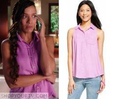 Devious Maids: Season 3 Episode 10 Rosie's Button Down Shirt
