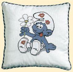 Cushion The Smurfs