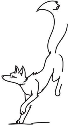 Painted Fox design (UTH5079) from UrbanThreads.com