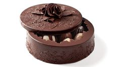 Filled Black Rose Art Box | Chocolate Art Boxes | DeBrand Fine Chocolates - folks, this is how you give chocolates! I may try to figure our how to make one of these.