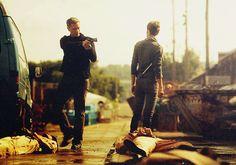 Owen/Sam and Alex (Nikita)
