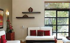 Asian influenced interior aesthetic.