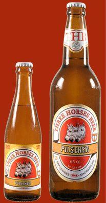 Three Horses Pilsener Beer, Brasseries Madagascar, Madagascar