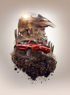 We made the following project for the launch campaignNew Mitsubishi L200 - 2016.Tecnic: 60% CGI - 40% PostClient: Oveja Negra - Mitsubishi MotorsCreative Director: Manuel EscalanteProducer: Georgina BernyForma: Catzwolf - Rodo Morfin