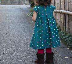 Made by Rae Geranium dress x neon nani IRO