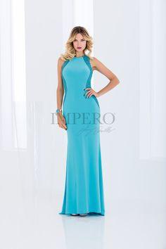 DS 2001L #abiti #dress #wedding #matrimonio #cerimonia #party #event #damigelle #turchese #turquoise