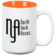Customize this ceramic mug for your café!