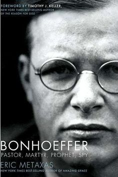 New York Times best seller - Bonhoeffer: Pastor, Martyr, Prophet, Spy Author by Eric Metaxas Dietrich Bonhoeffer, New York Times, Ny Times, E Book Reader, Jim Elliot, Dr Oz, Music Games, Books And Coffee, Reading