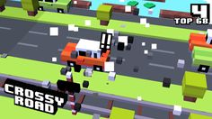 4 on #crossyroad. My top is 68.