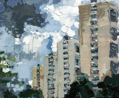 New Blood Art | Blue Skies by Torie Wilkinson | Buy Original Art Online | Artworks by Emerging Artists for Sale