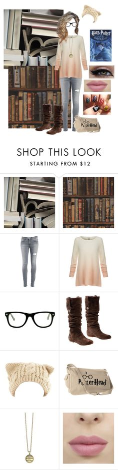 """""""Harry Potter Book Worm"""" by that-awkward-fangirl ❤ liked on Polyvore featuring Mr Perswall, Andrew Martin, Dondup, Joie, Muse and UGG Australia"""