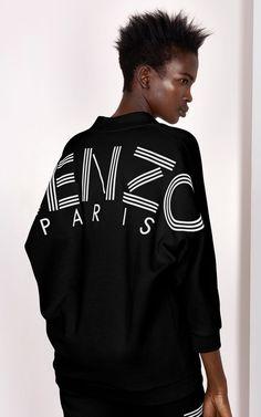 8f6ea8a3 KENZO Sweatshirt, BLACK, KENZO Chemise Kenzo, Kenzo Jumper, Jumper Outfit,  Sweatshirt