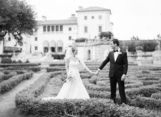 Miami Wedding at Vizcaya Museum & Gardens by KT Merry  Read more - http://www.stylemepretty.com/2012/07/16/miami-wedding-at-vizcaya-museum-gardens-by-kt-merry-2/
