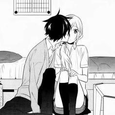 Miyamura and Hori || Manga: Horimiya