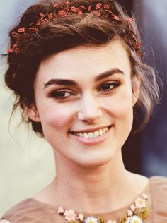 Keira Knightley is another classic beauty.