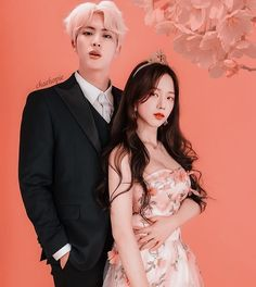 #bts #blackpink #bangpink #jinsoo Kpop Couples, Cute Couples, Bts Girlfriends, Chanbaek, Bts Twice, Blackpink Photos, Blackpink And Bts, Princess Girl, Jennie Blackpink
