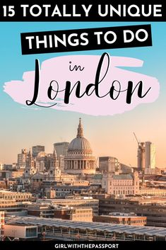 If you've been to London before then get off the beaten path and check out 15 weirdly wonderful and totally unusual things to do in London. Travel Tips For Europe, Travel Destinations, Holiday Destinations, London Guide, Things To Do In London, Ireland Travel, Italy Travel, European Travel, European Vacation