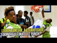 901c17540084 Check out highlights from Lebron James Jr.   Elijah Fisher from this  weekend s D-Rich TV Camp! The rising graders teamed up with each other and  ended up ...