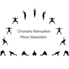 Chandra Namaskar- Moon Salutation