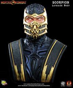 [POP CULTURE SHOCK] Mortal Kombat: Scorpion Life-Size Bust