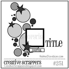 pics and cheesecake: DT Creative Scrappers - sketch #251