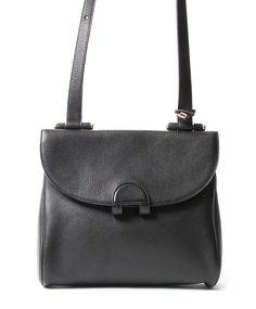 2dc58e3b7f8b Delvaux Black Messenger Bag Vintage Boutique