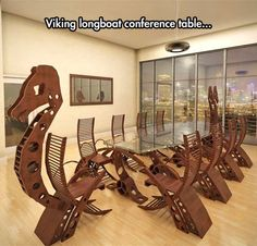 Viking Conference Long Table