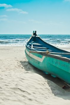 Pad across the soft sand and sail/row away into those clear blue waves