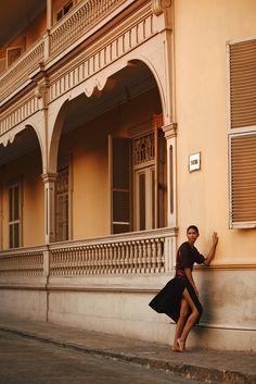 Chanel iman by alexander neumann for harper s bazaar russia june 2014