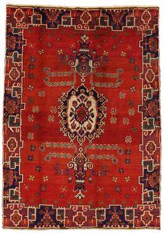 Afshar - Sirjan Tappeto Persiano 207x145