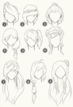 Hairstyles drawing inspiration                                                  ...  http://xn--80aapluetq5f.xn--p1acf/2017/01/14/hairstyles-drawing-inspiration/