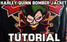 Cosplay Harley Quinn Bombshell Bomber Jacket Tutorial