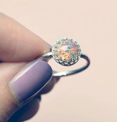 Hey, I found this really awesome Etsy listing at https://www.etsy.com/listing/158984754/sterling-silver-pink-fire-opal-ring