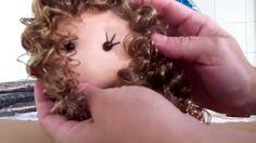 Boneca de pano (cabelo cacheado canecalon)                                                                                                                                                                                 Mais